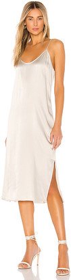 ATM Anthony Thomas Melillo Silk Slip Dress