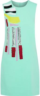 Emilio Pucci Embellished Cady Mini Dress