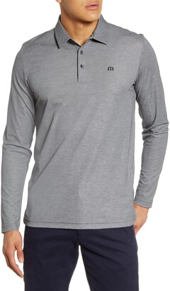 Travis Mathew TravisMathew Roundabout Long Sleeve Polo Shirt
