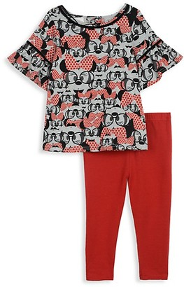Disney x Pippa & Julie Baby Girl's Minnie Mouse Top Legging Set