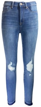 Rewash Juniors' High Rise Ripped Jeggings