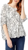 Phase Eight Cecily Floral Jacquard Top