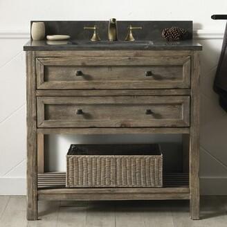 "Laurel Foundry Modern Farmhouse Rosalinda 36"" Single Bathroom Vanity Set"
