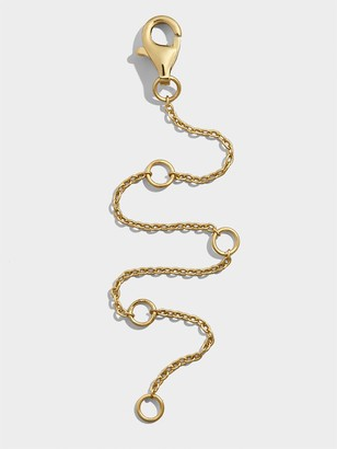 BaubleBar Ciana 18K Gold Plated Chain Extender 4""