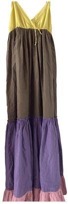 Gerard Darel Multicolour Cotton Dress for Women