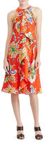 Lauren Ralph Lauren Ruffled Paisley-Print Dress