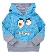 F&F Monster Face Hoodie, Boy's