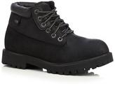 Skechers Black 'sargeants Verdict' Leather Boots
