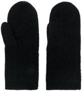 Isabel Marant ribbed cashmere gloves - women - Cashmere - One Size