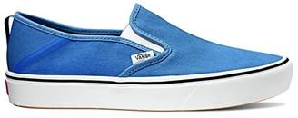 Vans ComfyCush Slip-On SF ((Stretch Canvas) Classic Navy/True White) Skate Shoes