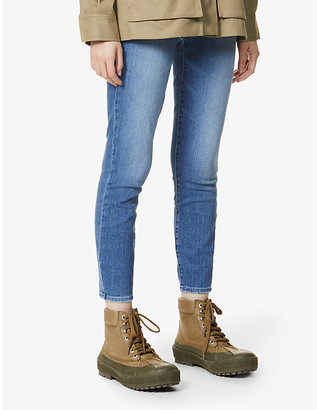 Paige Verdugo skinny mid-rise cropped stretch-denim jeans