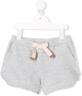 Chloé Kids Jersey Shorts
