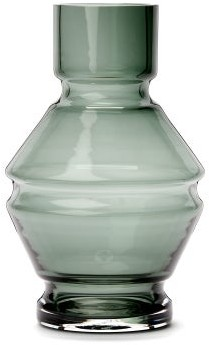 Raawii - Relae Small Glass Vase - Grey