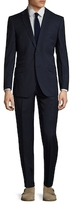English Laundry Pinstripe Notch Lapel Suit