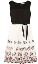 Speechless Girls 7-16 Illusion Neckline Butterfly Border Dress