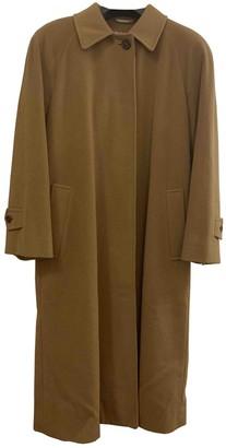 Aquascutum London Brown Cashmere Coat for Women