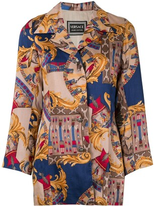 Versace Pre-Owned Baroque Print Jacket