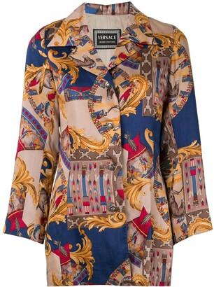 Versace Pre Owned Baroque Print Jacket