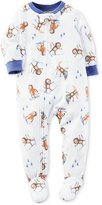 Carter's 1-Pc. Skiing Monkey-Print Footed Pajamas, Baby Boys (0-24 months)