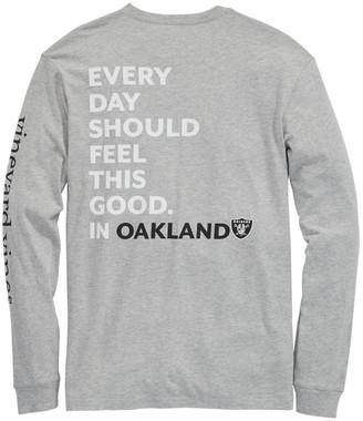 Vineyard Vines Oakland Raiders Long-Sleeve EDSFTG T-Shirt