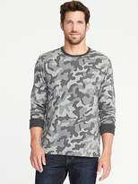 Old Navy Camo-Print Easy Crew Pocket Tee for Men