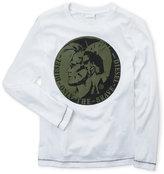Diesel Boys 8-20) Logo Long Sleeve Tee