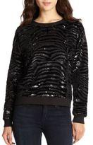 By Zoé Black Zebra Sweater