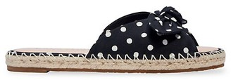 Kate Spade Saltie Polka Dot Slide Sandals