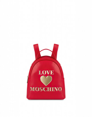 Love Moschino Small Backpack Padded Heart