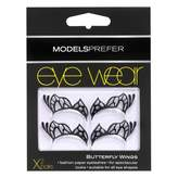 Models Prefer Eye Wear, Paper Half Lashes Butterfly 2 Pairs