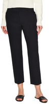 Helmut Lang Wool Stretch Pant with Bonded Hem