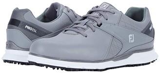 Foot Joy FootJoy Pro SL Spikeless (Gray/Gray/Black) Men's Golf Shoes