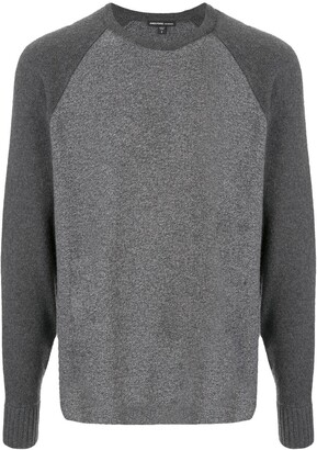 James Perse Recycled Cashmere Raglan Jumper