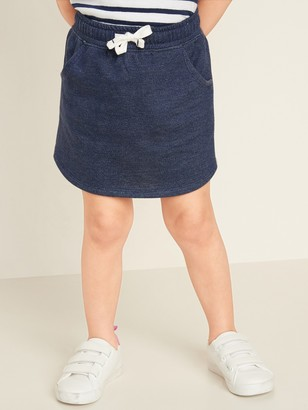 Old Navy French Terry Functional-Drawstring Skirt for Toddler Girls