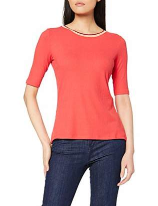 Comma Women's 81.912..99 T-Shirt, Red (red 30)
