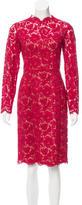 Valentino Lace Midi Dress