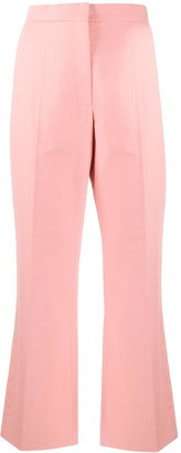 Rochas High Rise Cropped Trousers