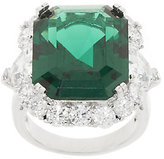 The Elizabeth Taylor 15.70 cttw Simulated Emerald Ring
