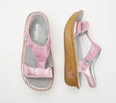 Alegria Leather Sandals with Adjustable Straps - Kendra