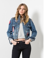 TALLEY Patches Pleat Denim Jacket