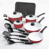 Oster 15-pc. Nonstick Ceramic Cookware Set