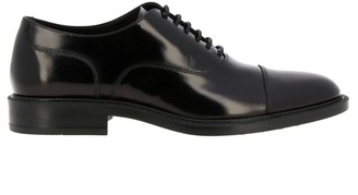 Tod's Tods Brogue Shoes Tods Brogues In Brushed Leather With Rubber Sole