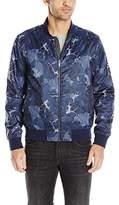 Calvin Klein Jeans Men's Floral Bomber Jacket