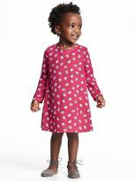 Old Navy Floral-Print Jersey Dress for Toddler Girls