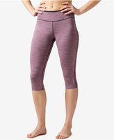 Reebok Workout Ready Reversible Capri Leggings