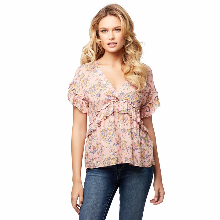 Thumbnail for your product : Jessica Simpson Women's Ashby Ruffled Blouse