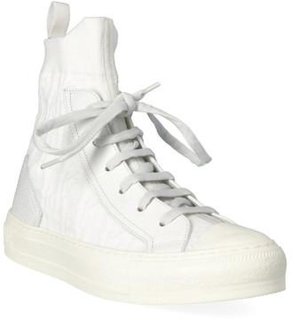 Christian Dior Walk'n'dior Leather High-Top Sneaker
