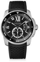 Cartier Calibre de Diver Stainless Steel & Rubber Strap Watch