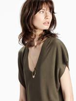 Lucky Brand Short Sleeve Pullover