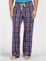 John Lewis Stockbridge Check Lounge Pants, Blue/red